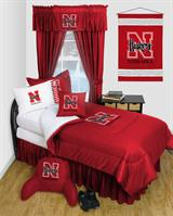 Nebraska Cornhuskers Locker Room Bed In A Bag