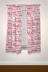 "Nebraska Cornhuskers NCAA ""Anthem"" Window Panels"