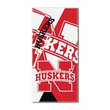 "Nebraska ""Puzzle"" Oversized Beach Towel"