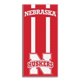 "Nebraska ""Zone Read"" Beach Towel"