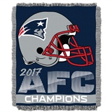 New England Patriots AFC Champs NFL WovenJacquard Throw