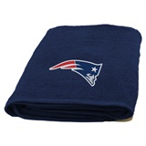 New England Patriots Appliqué Bath Towel