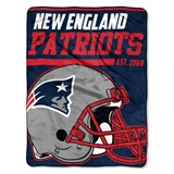 "New England Patriots NFL ""40 yard Dash"" Micro Raschel Throw"