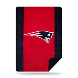 "New England Patriots NFL ""Denali"" Sliver Knit Throw"