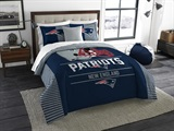 "New England Patriots NFL ""Draft"" King Comforter Set"