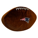 New England Patriots NFL  Football Shaped 3D Plush Pillow