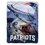 "New England Patriots NFL ""Heritage"" Silk Touch Throw"
