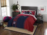 "New England Patriots NFL ""Soft & Cozy"" Full Comforter Set"