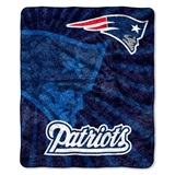 "New England Patriots NFL ""Strobe"" Sherpa Throw"