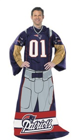 "New England Patriots NFL ""Uniform"" Adult Comfy Throw"