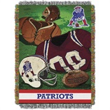 "New England Patriots NFL ""Vintage"" Woven Tapestry Throw"