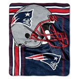 "New England Patriots ""Touchback"" Raschel Throw"