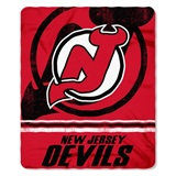 "New Jersey Devils NHL ""Fadeaway"" Fleece Throw"