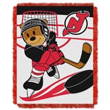 "New Jersey Devils NHL ""Score Baby"" Baby Woven Jacquard Throw"