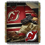 "New Jersey Devils NHL ""Vintage"" Woven Tapestry Throw"