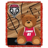 "New Mexico  Lobos NCAA ""Fullback"" Baby Woven Jacquard Throw"