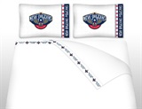 New Orleans Pelicans Micro Fiber Sheet Set Full