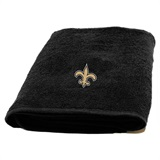 New Orleans Saints Appliqué Bath Towel