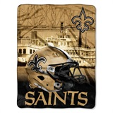 "New Orleans Saints NFL ""Heritage"" Silk Touch Throw"