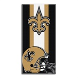 "New Orleans Saints ""Zone Read"" Beach Towel"