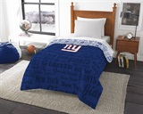 "New York Giants ""Anthem"" Twin Comforter"