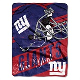 "New York Giants ""Deep Slant"" Micro Raschel Throw"