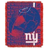 "New York Giants ""Double Play"" Woven Jacquard Throw"