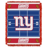 "New York Giants ""Field"" Baby Woven Jacquard Throw"