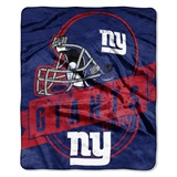 "New York Giants ""Grand Stand"" Raschel Throw"