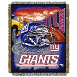 "New York Giants ""Home Field Advantage"" Woven Tapestry Throw"