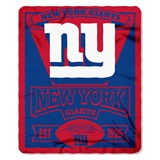 "New York Giants ""Marquee"" Fleece Throw"