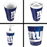New York Giants  NFL 4 piece Bath Set