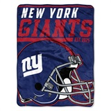 "New York Giants NFL ""40 yard Dash"" Micro Raschel Throw"