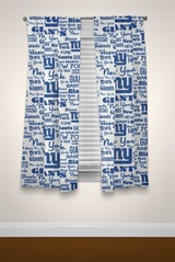 "New York Giants NFL ""Anthem"" Window Panels"