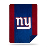 "New York Giants NFL ""Denali"" Sliver Knit Throw"