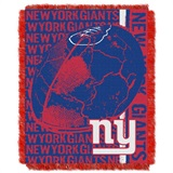 "New York Giants NFL ""Double Play"" Woven Jacquard Throw"