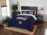 "New York Giants NFL ""Draft"" Full/Queen Comforter Set"