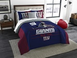 "New York Giants NFL ""Draft"" King Comforter Set"