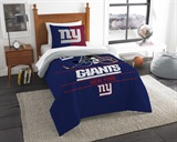 "New York Giants NFL ""Draft"" Twin Comforter Set"