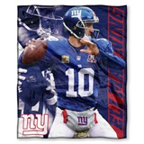 "New York Giants NFL ""Eli Manning"" Players HD Silk Touch Throw"