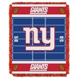 "New York Giants NFL ""Field"" Baby Woven Jacquard Throw"