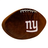 New York Giants NFL  Football Shaped 3D Plush Pillow