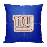 New York Giants NFL Letterman Pillow