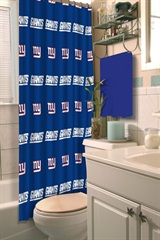 New York Giants NFL Shower Curtain