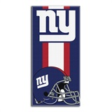 "New York Giants ""Zone Read"" Beach Towel"