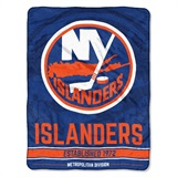 "New York Islanders NHL ""Break Away"" Micro Raschel Throw"