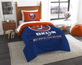 "New York Islanders NHL ""Draft"" Twin Comforter Set"