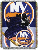 "New York Islanders NHL ""Home Ice Advantage"" Woven Tapestry Throw"