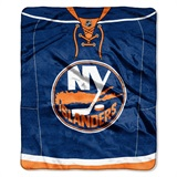 "New York Islanders NHL ""Jersey"" Raschel Throw"