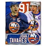 New York Islanders NHL John Tavares HD Player Silk Touch Throw